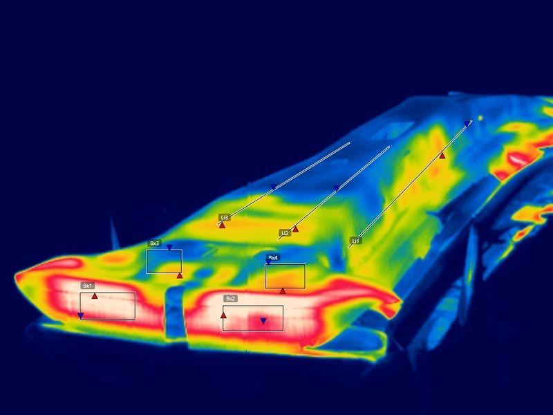 Procesamiento metales, Control de procesos y de calidad, Apliter Termografía